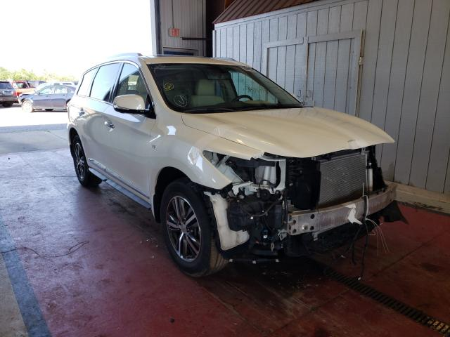Salvage cars for sale from Copart Angola, NY: 2017 Infiniti QX60