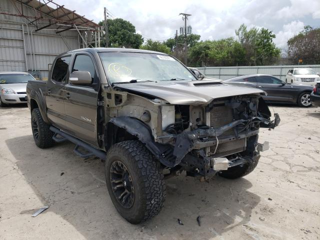 Salvage cars for sale from Copart Corpus Christi, TX: 2015 Toyota Tacoma DOU