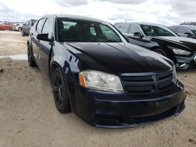 Salvage cars for sale from Copart Temple, TX: 2012 Dodge Avenger SE
