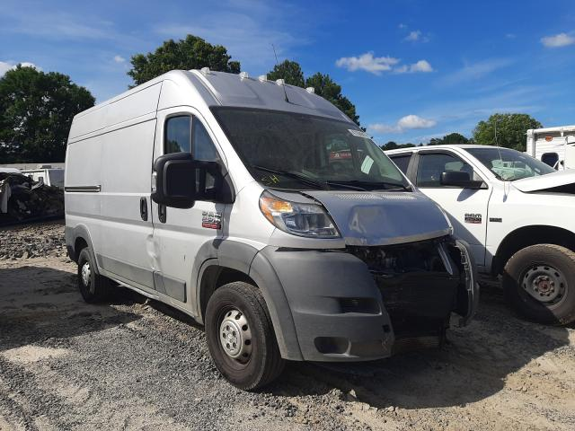 Salvage cars for sale from Copart Conway, AR: 2015 Dodge RAM Promaster