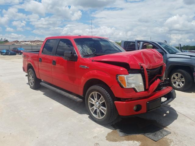Salvage cars for sale from Copart Abilene, TX: 2014 Ford F150 Super
