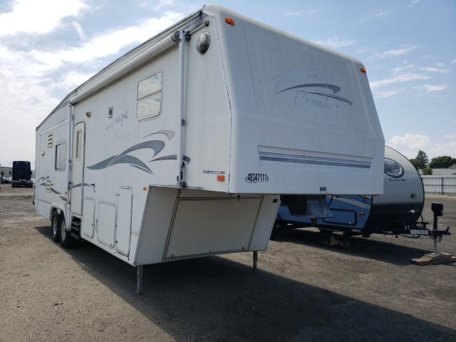 Prowler Camper salvage cars for sale: 2000 Prowler Camper