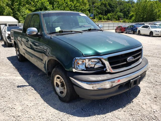 Salvage cars for sale from Copart Hurricane, WV: 2000 Ford F150