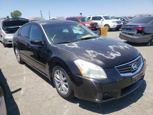 Salvage cars for sale from Copart Martinez, CA: 2007 Nissan Maxima