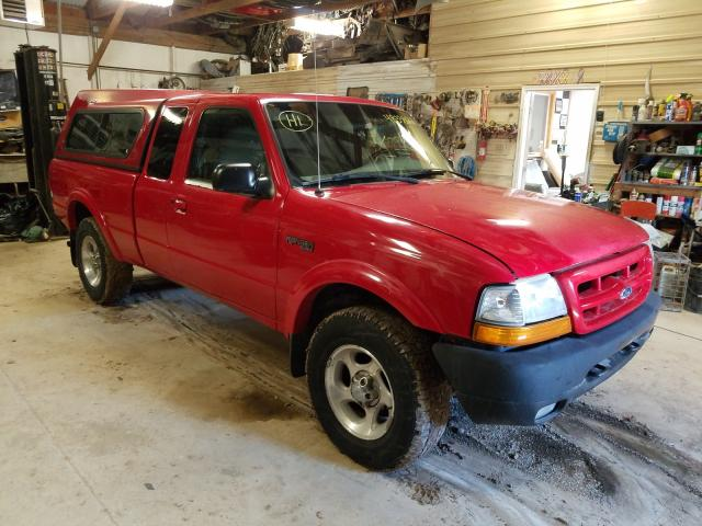 Salvage cars for sale from Copart Billings, MT: 2000 Ford Ranger SUP