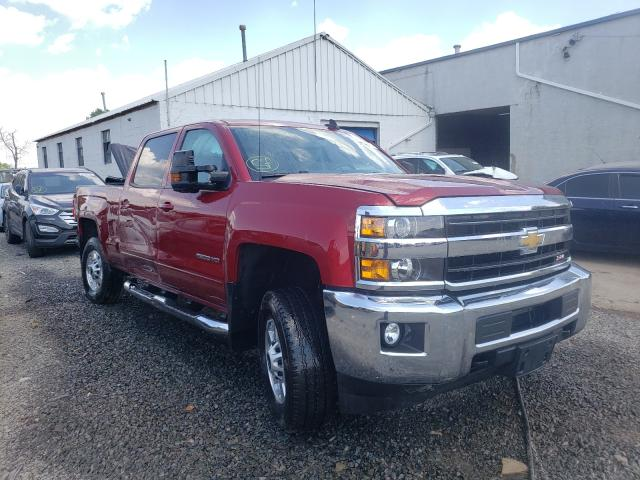 Salvage cars for sale from Copart Hillsborough, NJ: 2019 Chevrolet 2500 HD