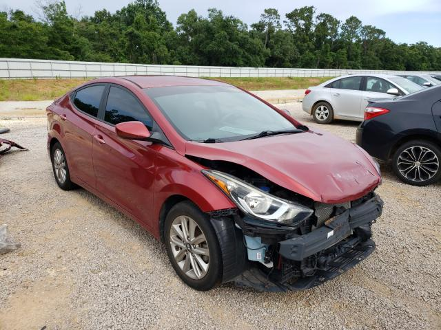 Salvage cars for sale from Copart Theodore, AL: 2016 Hyundai Elantra SE