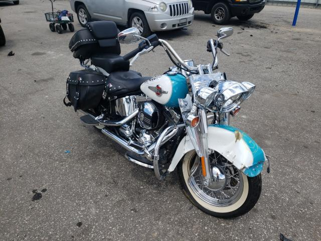 Salvage cars for sale from Copart Dunn, NC: 2016 Harley-Davidson Flstc Heri