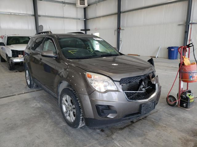 Salvage cars for sale at Greenwood, NE auction: 2012 Chevrolet Equinox LT