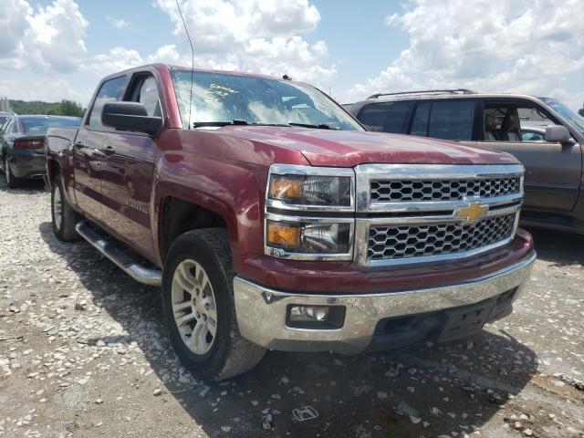 Salvage trucks for sale at Alorton, IL auction: 2014 Chevrolet Silverado