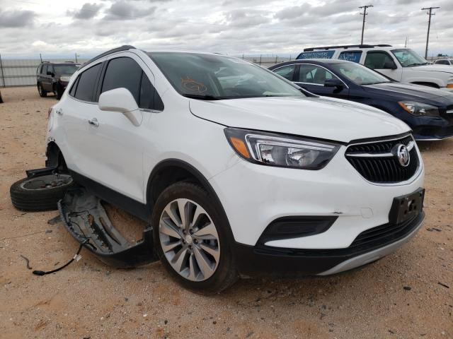 Salvage cars for sale from Copart Andrews, TX: 2020 Buick Encore PRE