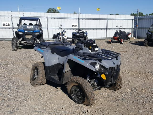 Salvage cars for sale from Copart Billings, MT: 2021 Can-Am Outlander