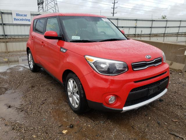 Salvage cars for sale from Copart Elgin, IL: 2018 KIA Soul +