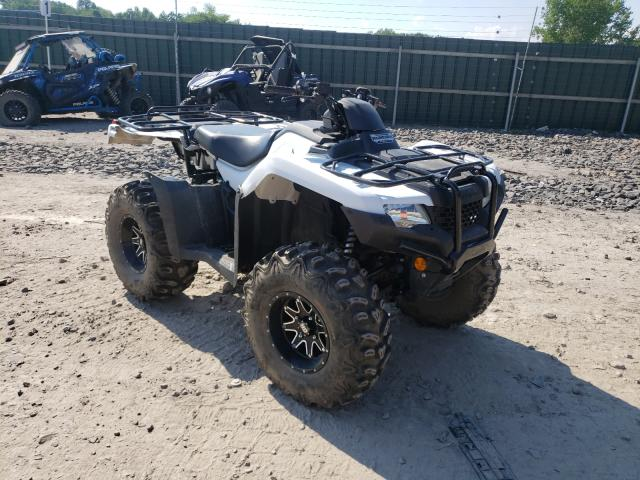 Salvage cars for sale from Copart Duryea, PA: 2019 Honda TRX420 FA