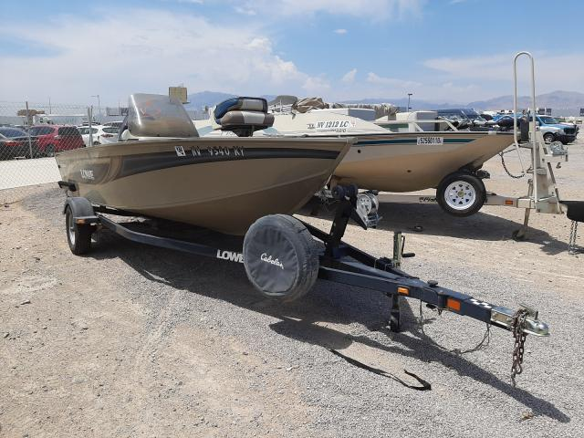 Salvage boats for sale at Las Vegas, NV auction: 2006 Lowe Boat With Trailer