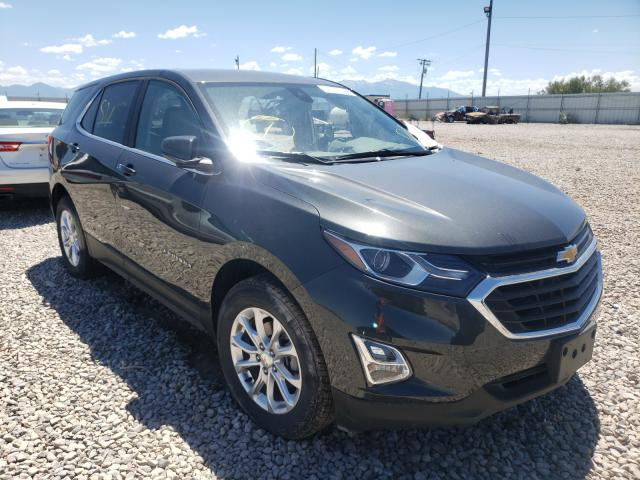 Salvage cars for sale at Magna, UT auction: 2021 Chevrolet Equinox LT