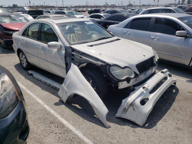 Vehiculos salvage en venta de Copart Sun Valley, CA: 2002 Mercedes-Benz C 320
