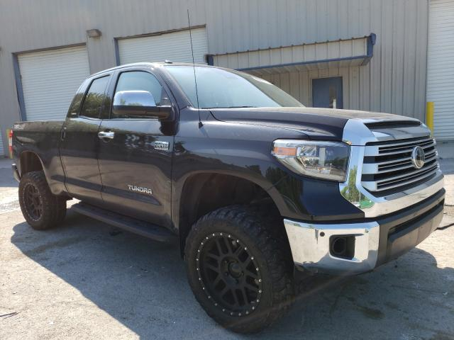 Salvage cars for sale from Copart Albany, NY: 2018 Toyota Tundra DOU