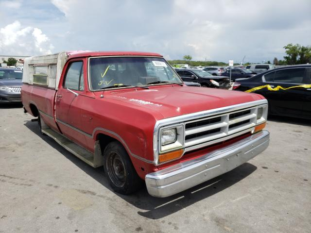Salvage cars for sale from Copart Orlando, FL: 1990 Dodge D-SERIES D