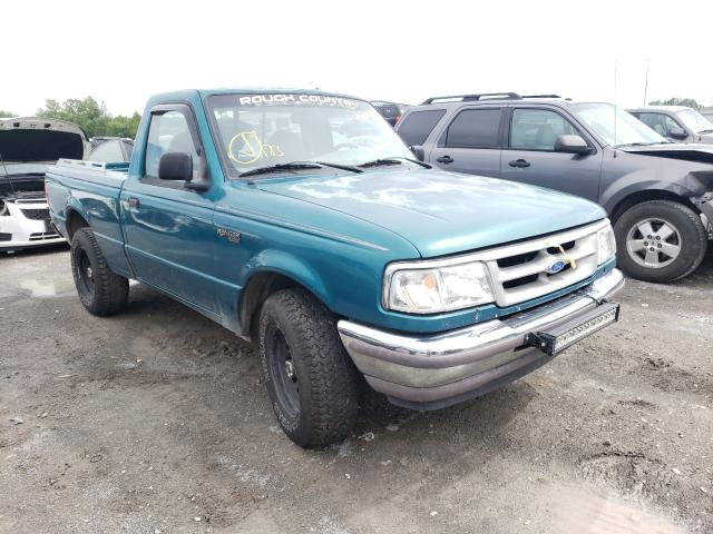 Salvage trucks for sale at Alorton, IL auction: 1996 Ford Ranger