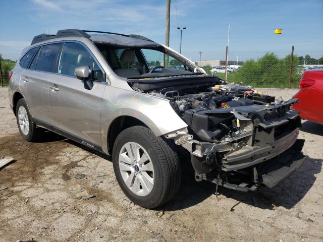Salvage cars for sale from Copart Indianapolis, IN: 2017 Subaru Outback 2