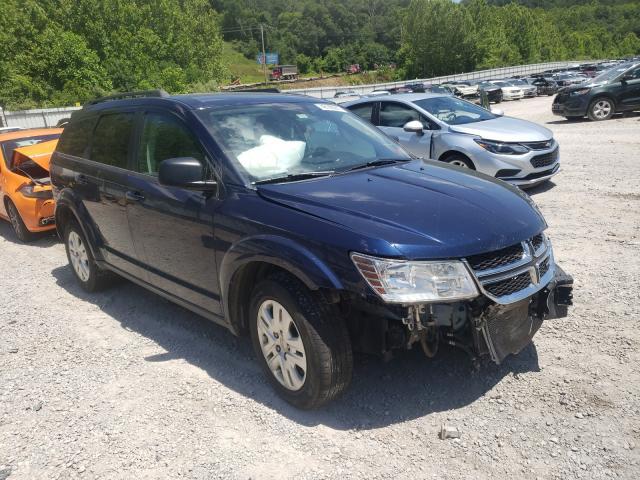 Vehiculos salvage en venta de Copart Hurricane, WV: 2018 Dodge Journey SE