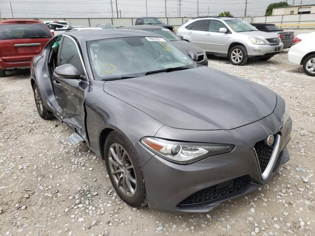 Alfa Romeo Giulia salvage cars for sale: 2018 Alfa Romeo Giulia