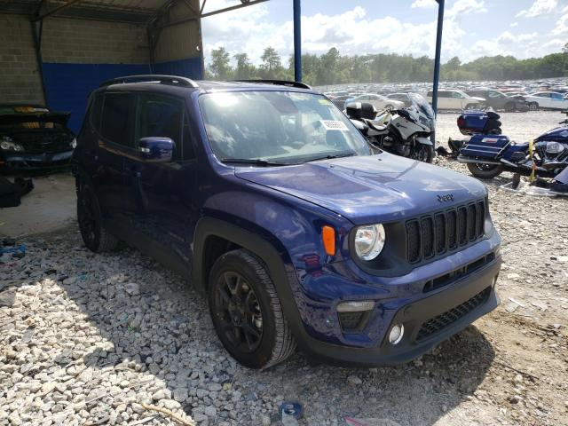 Jeep Renegade salvage cars for sale: 2020 Jeep Renegade