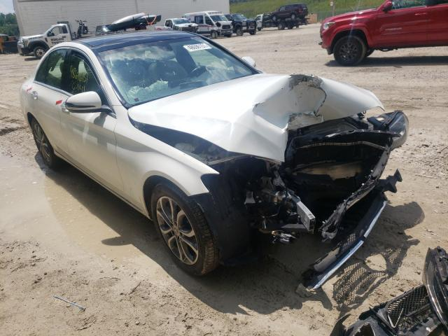 Salvage cars for sale from Copart Northfield, OH: 2018 Mercedes-Benz C 300 4matic