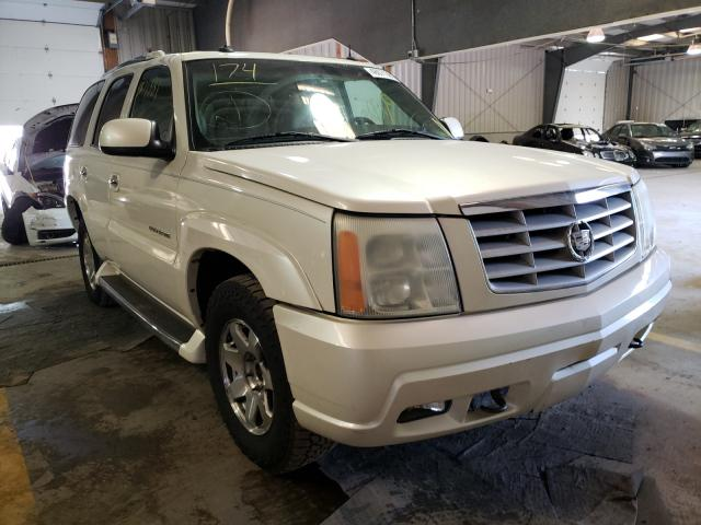 Salvage cars for sale from Copart West Mifflin, PA: 2003 Cadillac Escalade L