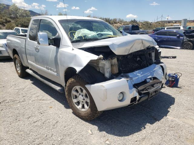 Salvage cars for sale from Copart Reno, NV: 2005 Nissan Titan XE