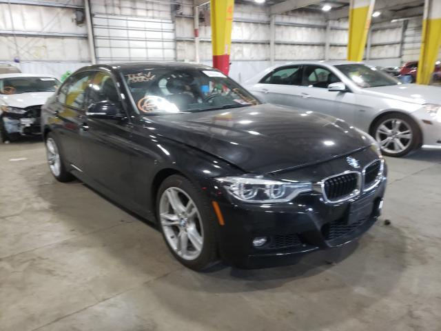 Salvage cars for sale from Copart Woodburn, OR: 2016 BMW 340 XI