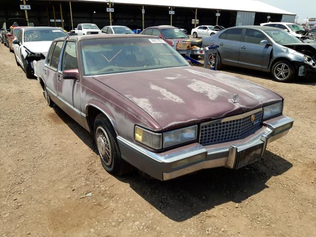 Cadillac Deville salvage cars for sale: 1989 Cadillac Deville