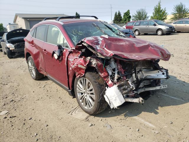 Salvage cars for sale from Copart Eugene, OR: 2021 Toyota Venza LE