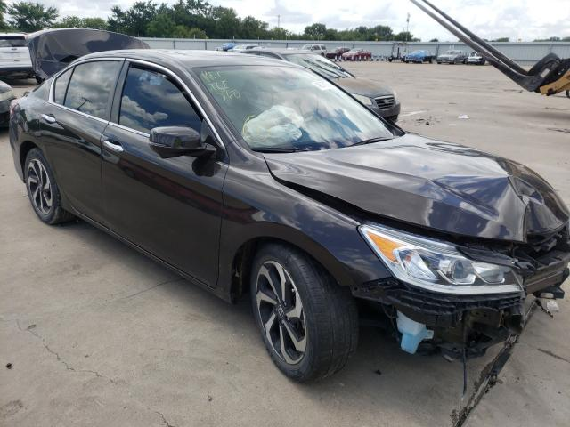 Salvage cars for sale from Copart Wilmer, TX: 2017 Honda Accord EXL