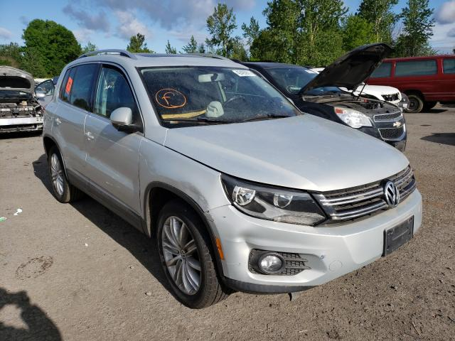 Salvage cars for sale from Copart Portland, OR: 2012 Volkswagen Tiguan S
