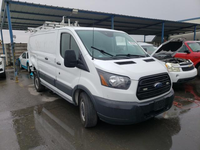 Salvage cars for sale from Copart Anthony, TX: 2017 Ford Transit T