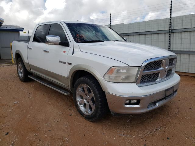 Salvage cars for sale at Andrews, TX auction: 2010 Dodge RAM 1500