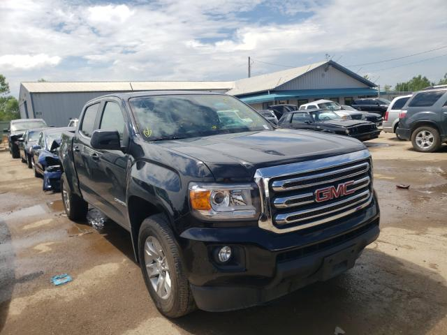 Salvage cars for sale from Copart Pekin, IL: 2018 GMC Canyon SLE
