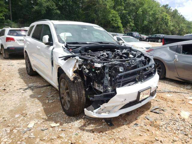 Salvage cars for sale from Copart Austell, GA: 2018 Dodge Durango GT