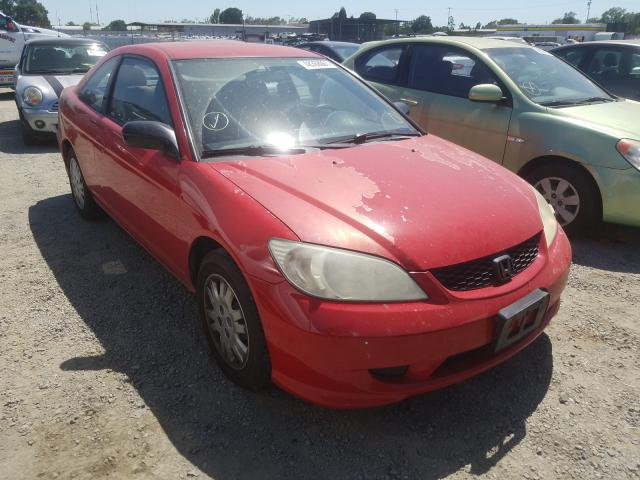 Salvage cars for sale from Copart Antelope, CA: 2005 Honda Civic LX