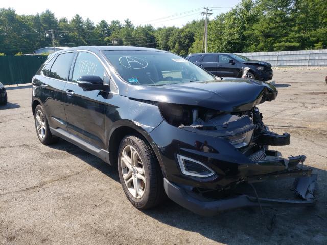 Vehiculos salvage en venta de Copart Exeter, RI: 2016 Ford Edge Titanium