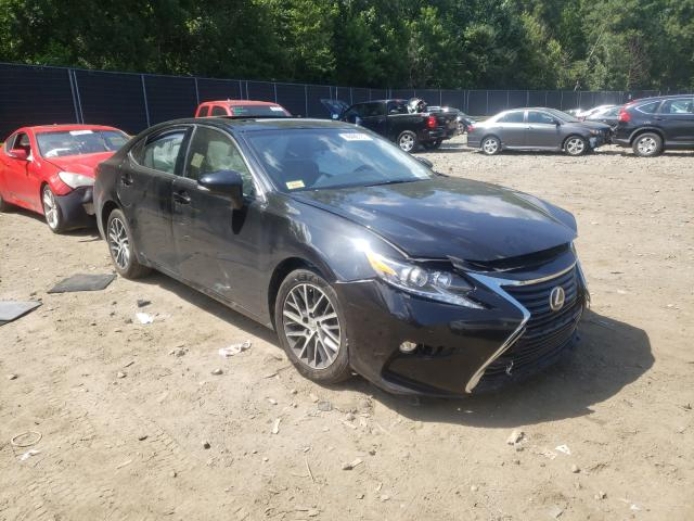 Salvage cars for sale from Copart Waldorf, MD: 2016 Lexus ES 350
