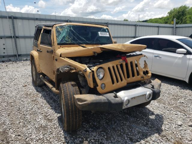 Salvage cars for sale from Copart Prairie Grove, AR: 2014 Jeep Wrangler S