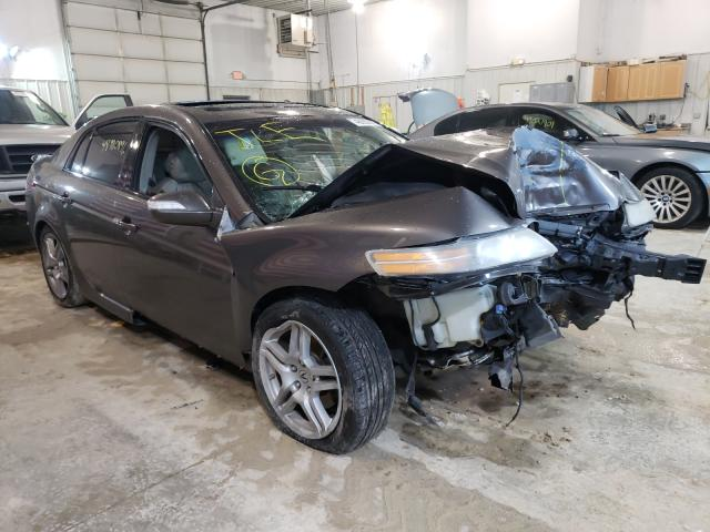 Salvage cars for sale from Copart Columbia, MO: 2008 Acura TL