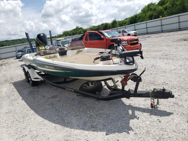 Salvage boats for sale at Prairie Grove, AR auction: 1998 Basc Boat