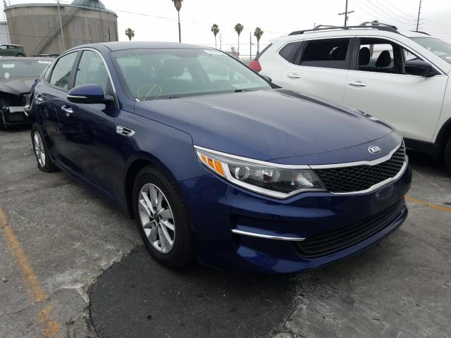 Salvage cars for sale from Copart Wilmington, CA: 2018 KIA Optima LX