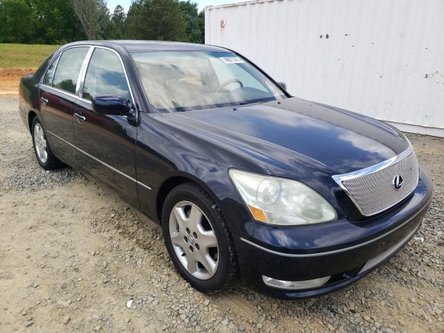 Salvage cars for sale from Copart Concord, NC: 2004 Lexus LS 430
