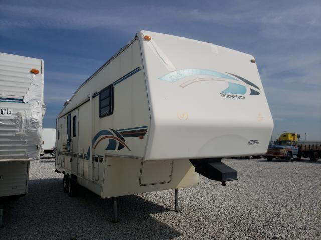 Gulf Stream salvage cars for sale: 1997 Gulf Stream Yellowston