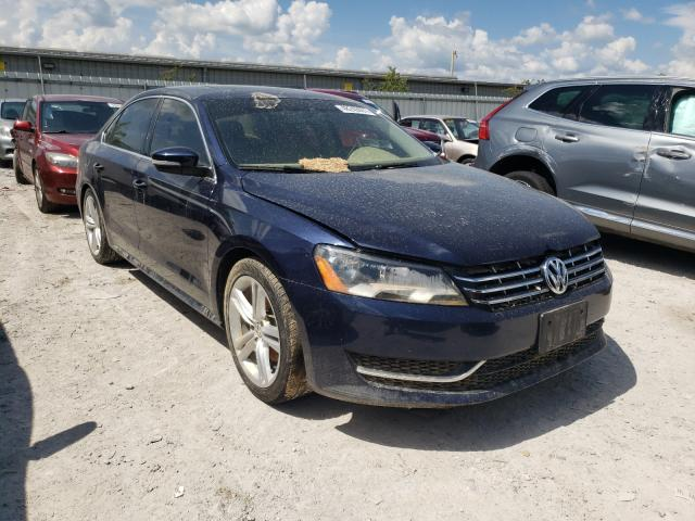 Salvage cars for sale from Copart Walton, KY: 2013 Volkswagen Passat SE